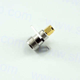 SMA Male to N Female Adapter 5MAM06S-NCF-010