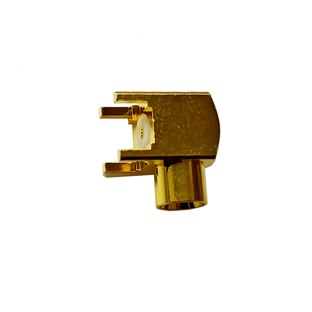 MCX jack right angle connector for pcb smt 50 ohm 5MXF27R-P41