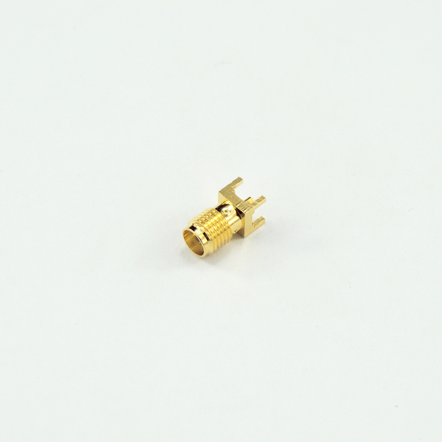 SMA jack straight connector for pcb smt 50 ohm 5MAF25S-P01-004