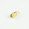 SMA plug straight solder connector for FLEXIFORM 402 LX NM FJ cable 50 ohm 5MAM15S-A347-006