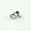 BNC plug right angle crimp connector for RG400/U cable 50 ohm 5BNM11R-A09-004