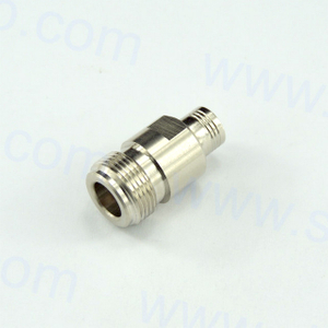 N female to SMB female straight adapter 75 ohm 7NCF06S-MBF-001