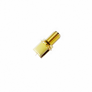 SMA jack straight connector for pcb end launch 50 ohm 5MAF28S-P21