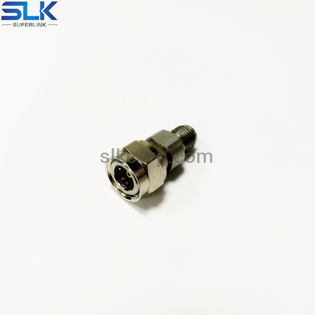 MMCX male to 3.5mm female straight adapter 50 ohm 5MCM06S-P3F