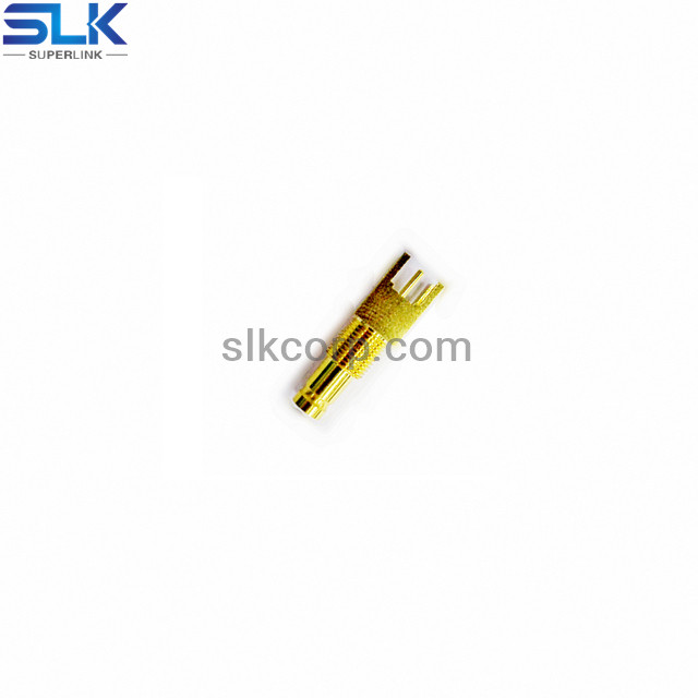 1.0/2.3 jack straight connector for PCB through hole 75 ohm 7A1F25S-P41-002