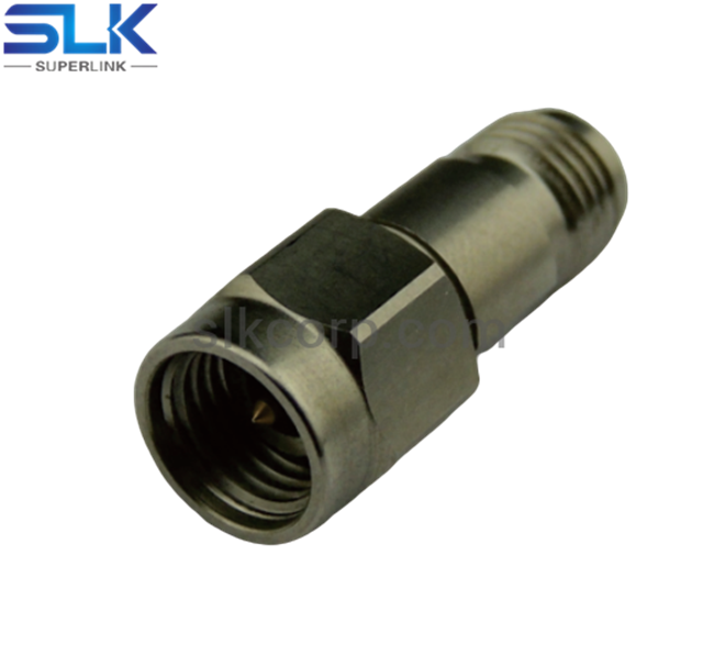 3.5mm female to SMP male straight adapter 50 ohm 5P3F06S-SPM