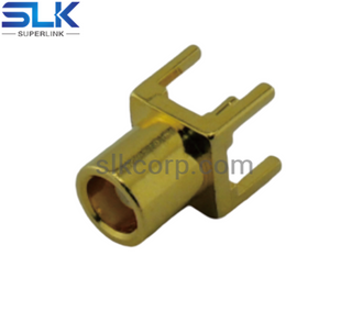 MCX jack straight connector for pcb smt 50 ohm 5MXF25S-P41-027