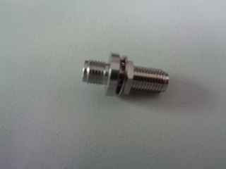 2.92mm female to 2.92mm female straight adapter Bulkhead-Rear Mount 50 ohm 5P9F06S-P9F-016