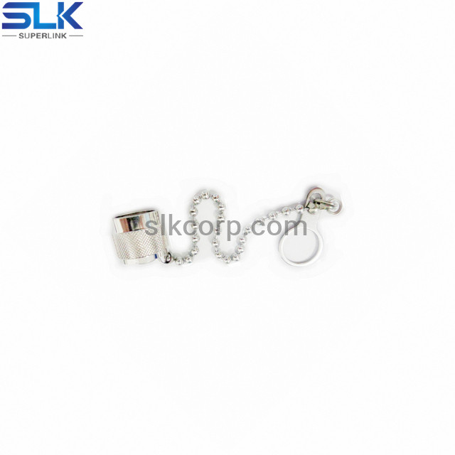 N female straight dust cap with polyester rope 50 ohm 5NCF00S-T00-005
