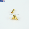 MCX plug right angle crimp connector for 670-086/75 cable 75 ohm 7MXM15R-A357-001