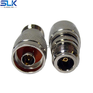 N female to N male straight adapter 50 ohm 5NCF06S-NCM-020