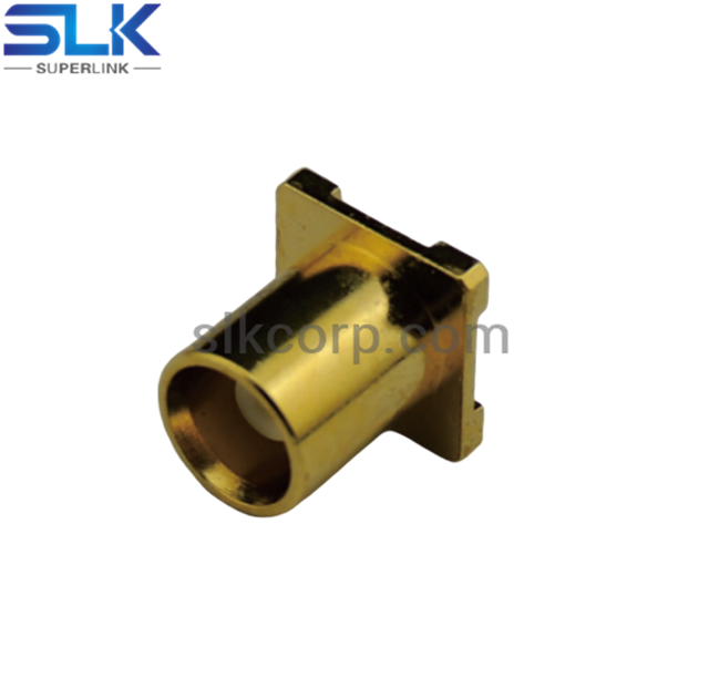 MMCX jack straight connector for pcb 50 ohm 5MCF27S-P41-003