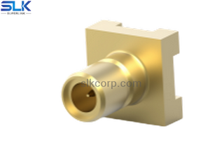 SMB jack straight connector for pcb smt 50 ohm 5MBF27S-P21-002