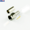 SMA plug straight crimp connector for RG316/U cable 50 ohm 5MAM11S-A50-006