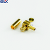 MMCX plug right angle crimp connector for RG316D cable 50 ohm 5MCM11R-A50-011