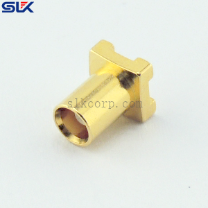 MCX jack straight connector for pcb 50 ohm 5MXF25S-P10-001