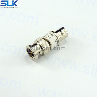BNC male to BNC male straight adapter 75 ohm 7BNM06S-BNM-002