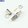 SMA jack straight crimp connector for RG178 cable bulkhead front mount 50 ohm 5MAF51S-A03-001
