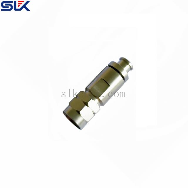 1.85mm plug straight solder connector TBEND-250-L cable 50 ohm 5P1M11S-A620