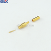 MCX plug straight crimp connector for RG-316 cable 50 ohm 5MXM11S-A02-027
