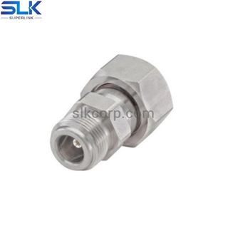 N female to 4.3/10 male straight adapter bulkhead rear mount 5NCF06S-SDM