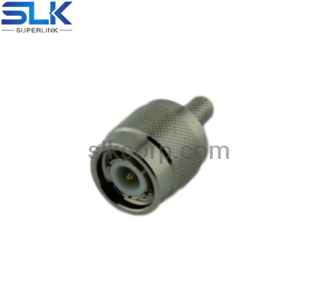 TNC plug straight crimp connector for LMR-240 cable 50 ohm 5TCM11S-A46-016