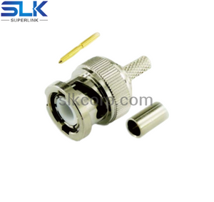 BNC plug straight connector 50 ohm 5BNM11S-A00-016