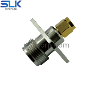 SMA Male to N Female Adapter 5MAM06S-NCF-008
