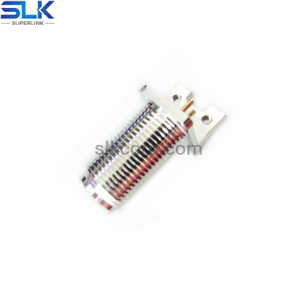 N jack straight connector for pcb end launch 50 ohm 5NCF30S-P00
