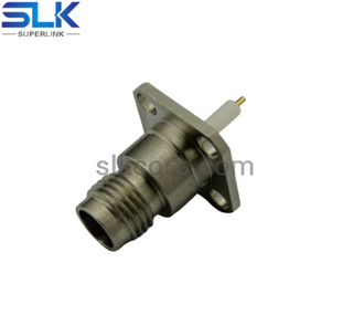 2.4mm jack straight connector 4 holes flange 50 ohm 5P4F85S-P01
