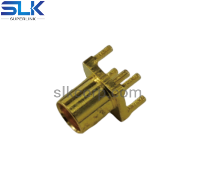 MMCX jack straight connector for pcb 50 ohm 5MCF25S-P41-008