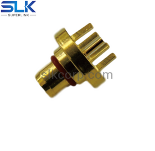 BMA jack straight connector for pcb smt 50 ohm 5BMM25S-P41-010