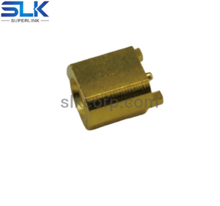MCX jack straight connector for pcb end launch 50 ohm 5MXF27S-P21