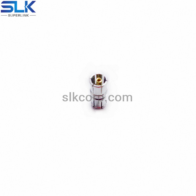 SMA male to P-SMP female straight adapter 50 ohm 5MAM06S-PPF