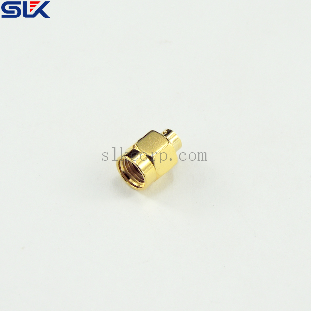 SMA plug straight solder connector for CL-141 cable 50 ohm 5MAM15S-A451