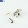 BNC plug straight crimp connector for RG316 cable 50 ohm 5BNM11S-A02-030