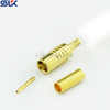 MCX jack straight crimp connector for RG174 RG316 cable 50 ohm 5MXF11S-A02-007