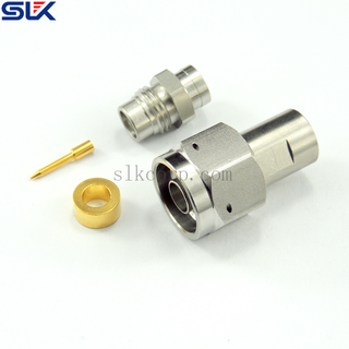 N plug straight clamp connector for RG-142B cable 50 ohm 5NCM13S-A16