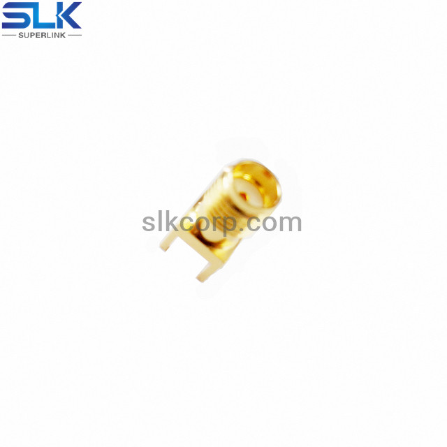 SMA jack straight connector for pcb end launch 50 ohm 5MAF28S-P41-018