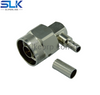 N plug right angle crimp connector for RG142 cable 50 ohm 5NCM11R-A09-006